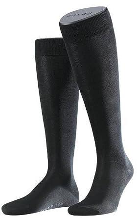 9dc07f58fe9 Amazon.com  Falke Mens Tiago Knee High Socks - Black  Clothing