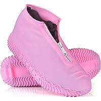 ydfagak Silikonytterskor, vattentäta skoöverdrag, återanvändbara halkfria överskor, för regn, snödag, ökenstrand, leriga…