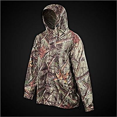 Huntworth Men's Micro Fiber Lined Waterproof Camouflage Hunting Jacket