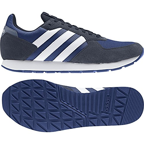 adidas 8k, Chaussures de Running Homme, Rosso (Core Red S17/Solar Red/Core Black) Blanc Cassé (Collegiate Royal/Ftwr White/Collegiate Navy)