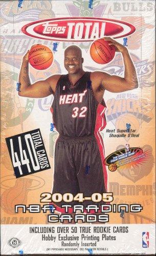 05 Topps Basketball Card - 2004 05 Topps Total Basketball Unopened Hobby Box