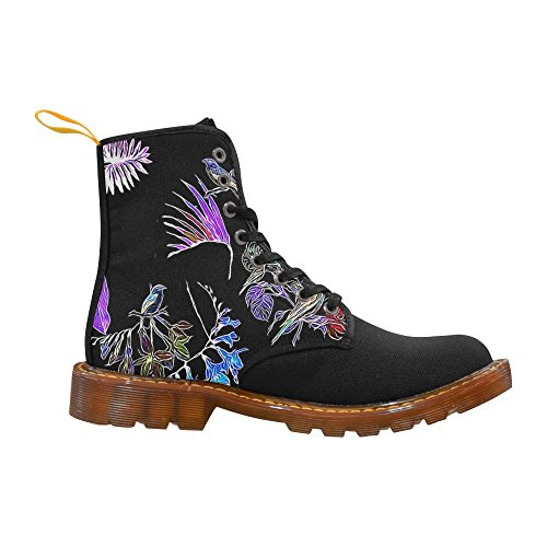 LEINTEREST Flowers and Birds Martin Boots Fashion Shoes For Women ca52CzXb