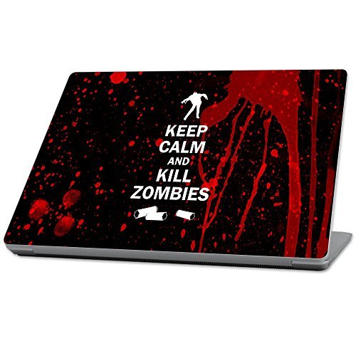 【WEB限定】 MightySkins MightySkins wrap Protective Durable and Unique Skin Vinyl wrap cover Skin for Microsoft Surface Laptop (2017) 13.3 - Kill Zombies Red (MISURLAP-Kill Zombies) [並行輸入品] B07898KXQP, 田舎館村:2c82e7fe --- a0267596.xsph.ru