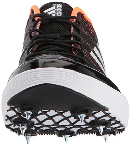 Adidas Unisex Performance Adizero Lj Track Schuh Core Black, Ftwr Weiß, Orange
