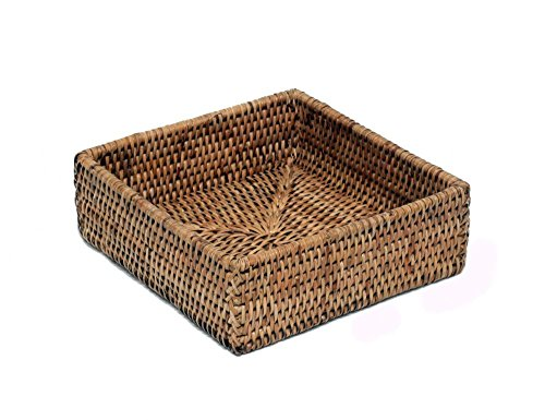 Artifacts Trading Company Rattan Luncheon Napkin Holder