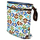 Planet Wise Wet/Dry Bag, Monkey Fun