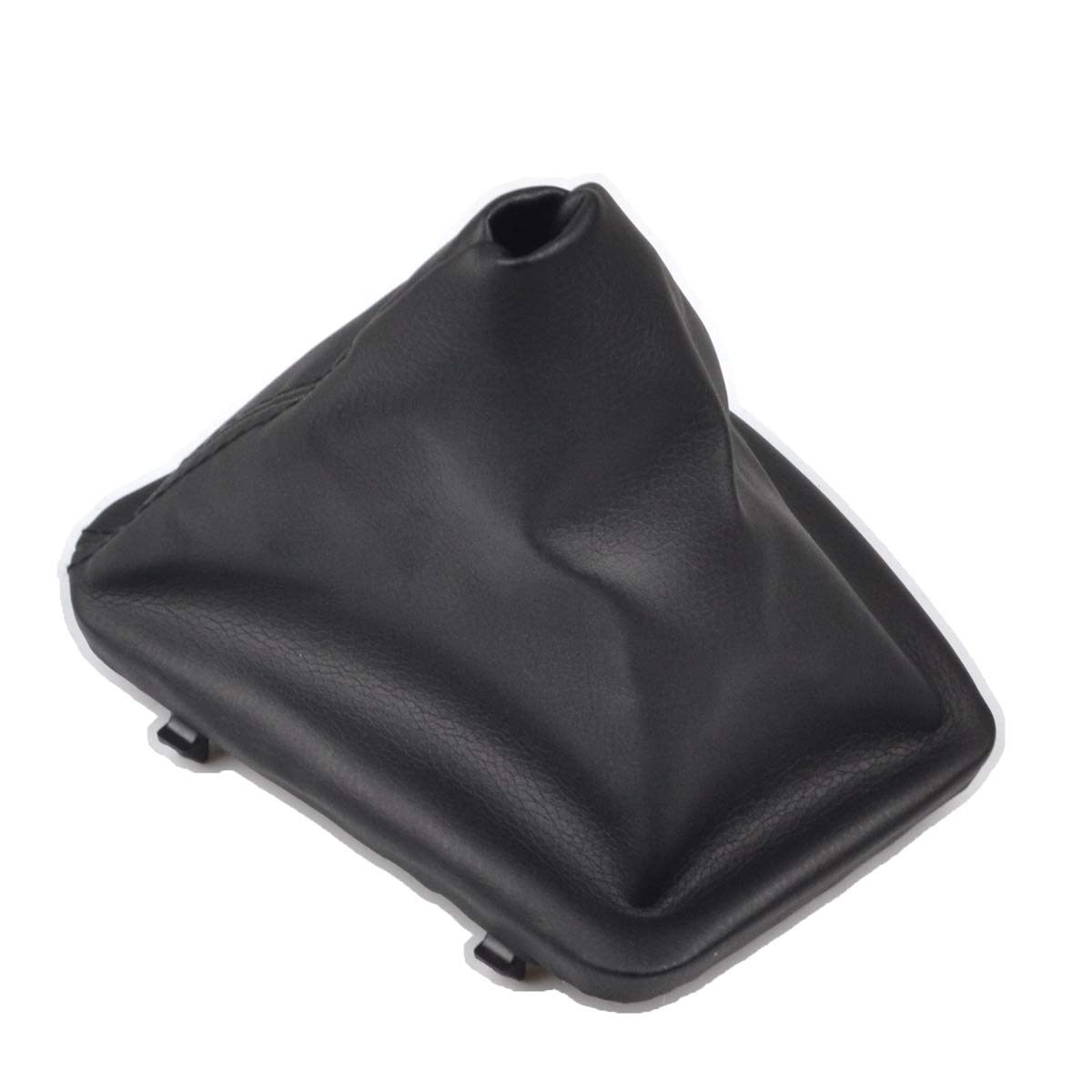 RunQiao Car Interior Accessories PU Gear Stick Shift Konb Gaiter Boot Cover with Frame for E46