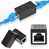 Cat6 RJ45 Network Coupler Joiner Plug Ethernet Cable Network Connector Adapter