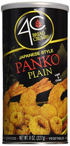 Plain Bread Crumbs - 4C Panko Bread Crumbs Plain, 8 oz
