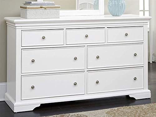 7-Drawer Dresser in White