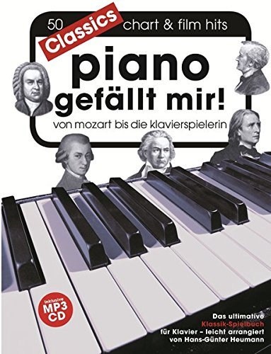 Piano gefällt mir! Classics - Von Mozart bis Die Klavierspielerin (Book & CD): Für Klavier