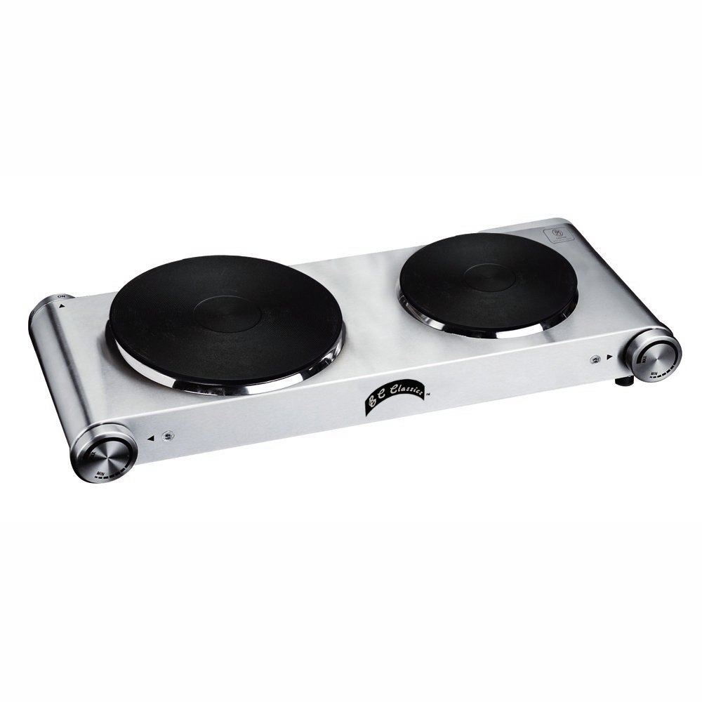 Dominion D72608 Double Sealed Burner, Stainless Steel, 1800-watt