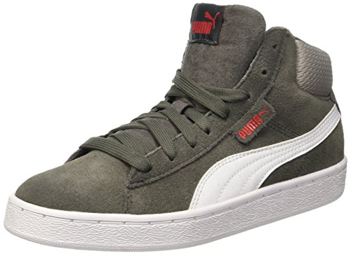 Puma 359182 Zapatos Niño Dark Shadow/Bianco
