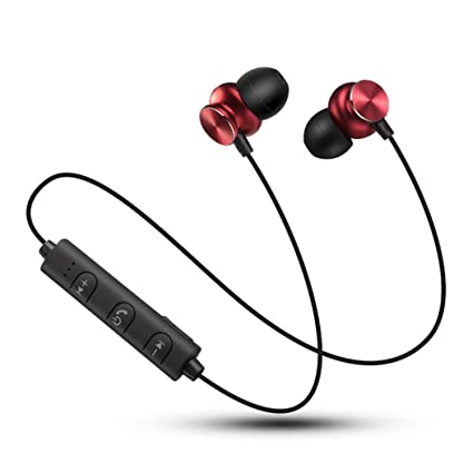 Diadia - Auriculares inalámbricos Bluetooth 4.2, cancelación de ruido, deportivos, con micrófono,