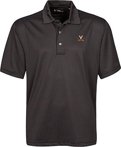 超人気の NCAA Virginia Links Cavaliers Men 's B00KE0NG5M Links Tech Stretch Tonalジャカード半袖ポロシャツ Men、スモール、ブラック B00KE0NG5M, ペアジュエリー テラグラティア:7716e1d8 --- a0267596.xsph.ru