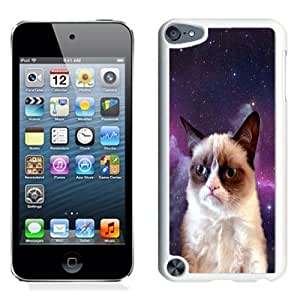 Lovely and Durable Cell Phone Case Design with Grumpy Cat iPod Touch 5 Wallpaper in White