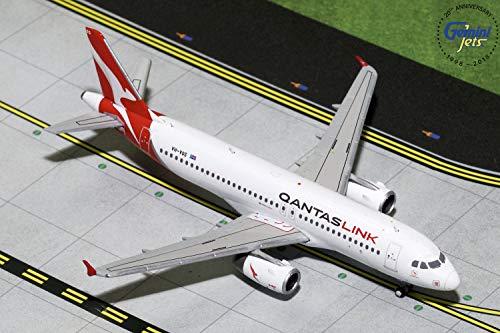 (GeminiJets GJQFA1772 Qantas Qantaslink A320 Vh-Vqs 1: 400 Scale Diecast Model Airplane, White)