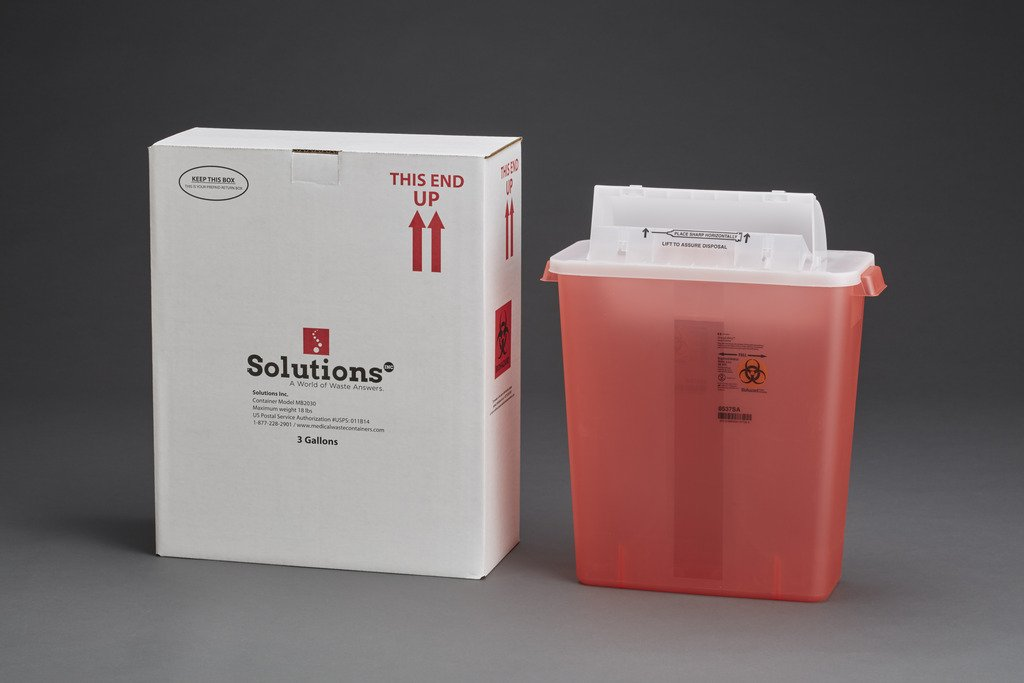 3-Gallon Sharps MailBack Kit by Active50 Solutions, Inc.
