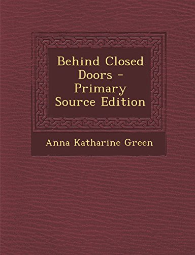 Closed doors pdf behind shannon mckenna