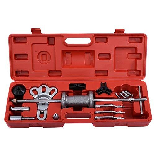 Slide Hammer Dent Puller 2/3 Jaw External Internal Oil Seal Bearing Remover Kit M12721
