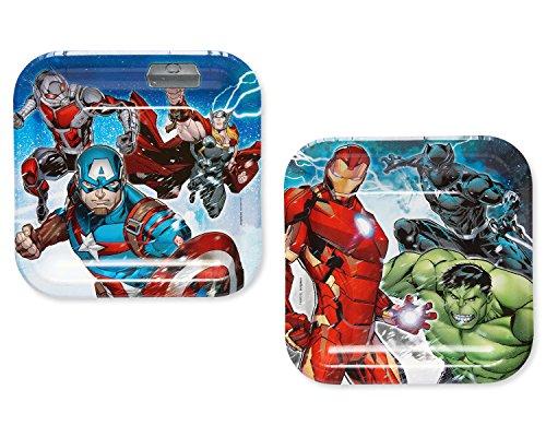 Marvel Epic AvengersTM Square Plates, 7