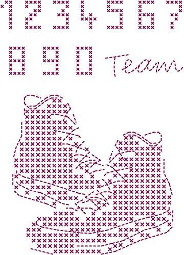 DMC Custom By Me Embroidery Transfer Magic Sheet Basketball (Transfer Dmc Embroidery)