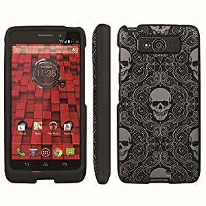 [ArmorXtreme] Designer Image Shell Cover Hard Case (Skull Black Gray) for Motorola Droid Mini XT1030