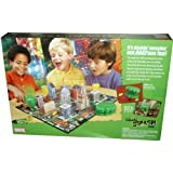 Marvel The Incredible Hulk Board Game - SMASH with Gameboard, Hulk Fist Mold Case, Hulk Smasher, 9 Cardboard Buildings, 12 Smash' em Cards, 4 Two-Oz. Containers of Modeling Compound, Rules and 2 Dices by Hulk