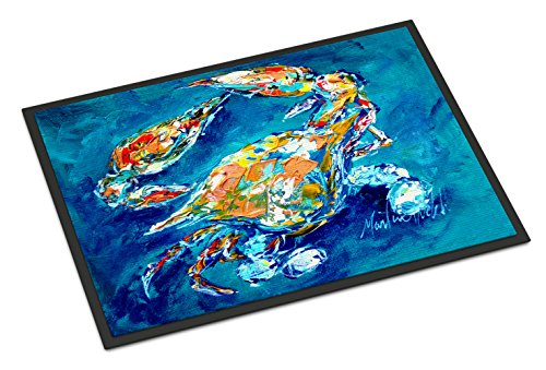 "Caroline's Treasures By Chance Crab Indoor or Outdoor Mat, 24"" x 36"", Multicolor from Caroline's Treasures"