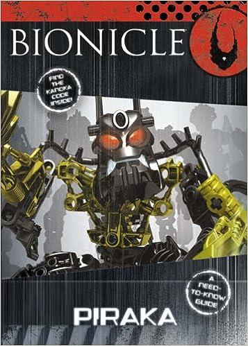Piraka (BIONICLE Mini Book): Lego: 9780007234318: Amazon com