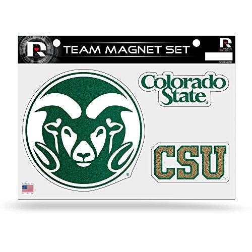 NCAA Colorado State Rams Bling Team Magnet Set