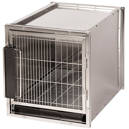 High Modular Dog Kennel (ProSelect Stainless Steel Modular Kennel, Small)