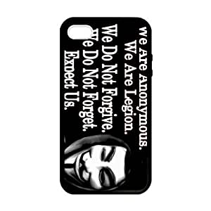 SUUER Rubber Silicone Custom Guy Fawkes Cartoon Designer Personalized Custom Plastic Rubber Tpu CASE for iPhone 5 5s Durable Case Cover