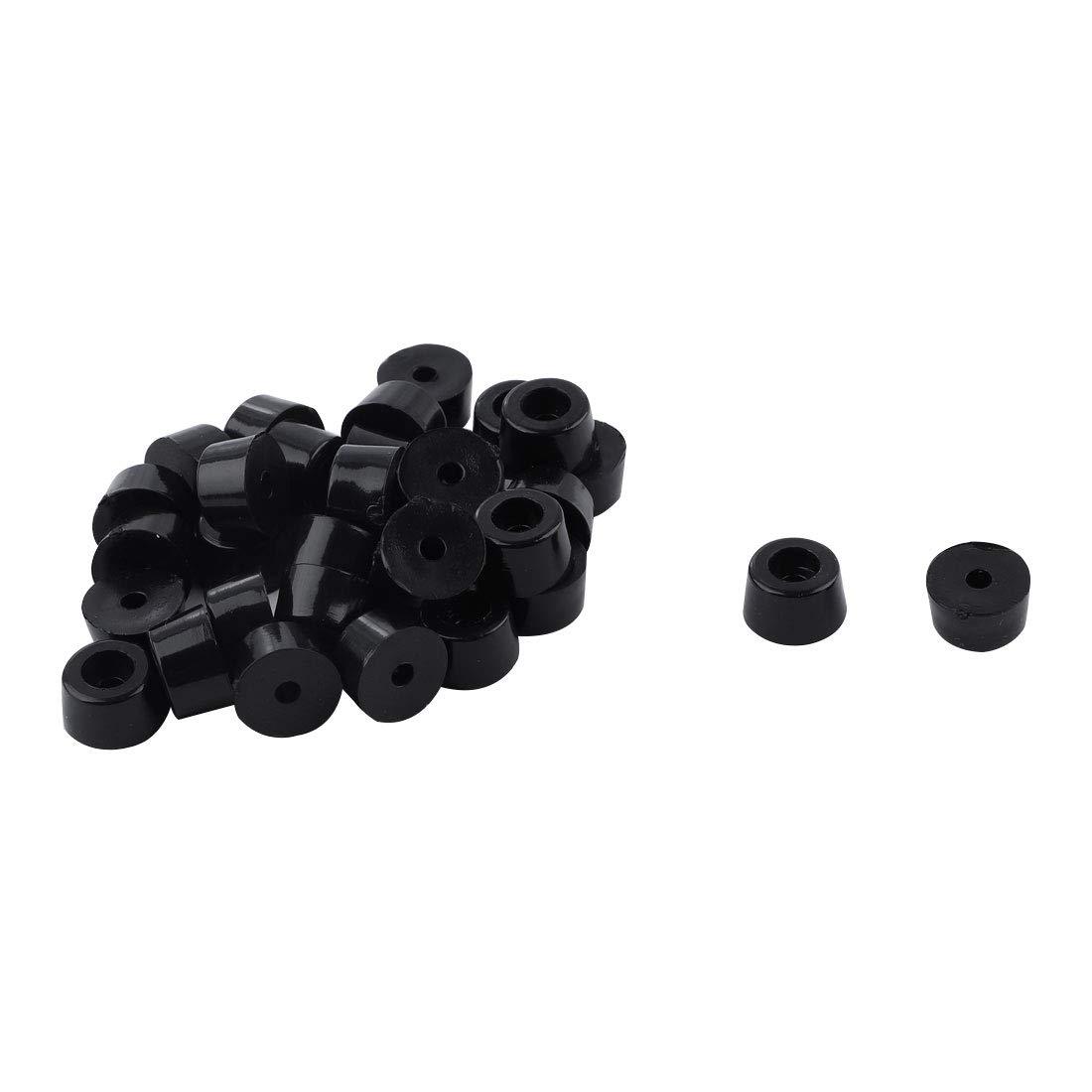 Sourcingmap 32 piezas de patas de goma redondas, para ...
