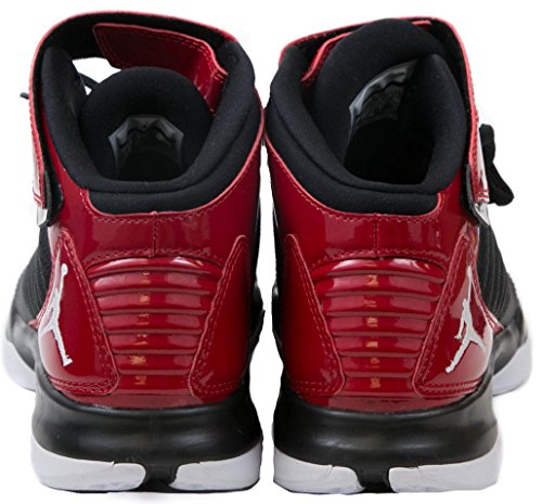 Red Jordan Basketball Black White 3 Nike Shoe BCT Jordan Mid Men's w1qARp