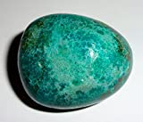 1pc #7 Chrysocolla Natural Premium Quality Tumbled & Polished Healing Crystal Large Gemstone Stone