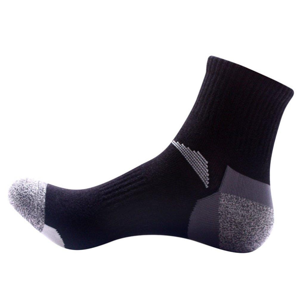 Pinkpum Calcetines Deportivos para Hombre de algodón Cómodo y Transpirable Pack 5 x2XVr9Wn