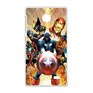 Malcolm The Avengers superman Cell Phone Case for Nokia Lumia X