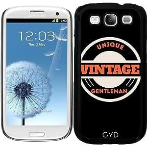 Funda para Samsung Galaxy S3 (GT-I9300) - Caballero Vintage única by les caprices de filles