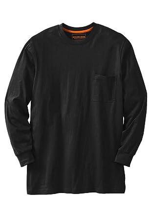 4356169605d Boulder Creek Men s Big   Tall Heavyweight Long-Sleeve Tee Shirt with ...