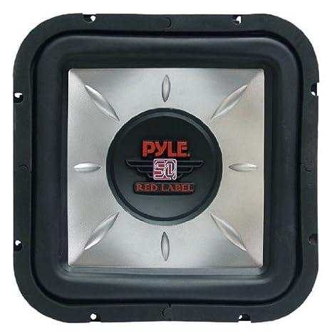 Pyle PLSQ12D 1400 W 30,48 cm DVC Cuadrado Subwoofer: Amazon ...