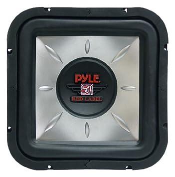 Pyle PLSQ10D 10-Inch 1,200-Watt Square DVC Subwoofer