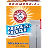 Arm & Hammer 33200-84011 Baking Soda Fridge-n-Freezer Odor Absorber, 16 oz (Pack of 12)