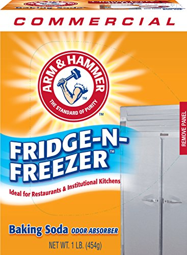 Price comparison product image Arm & Hammer 33200-84011 Baking Soda Fridge-n-Freezer Odor Absorber, 16 oz (Pack of 12)
