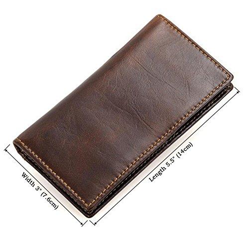 Mince Wenzhihua Des monnaie Card Case Pack Pour Portefeuille Cuir Shield Magnetic Porte Homme Hommes Thin Rfid En 4r4z58wq