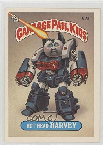 Hot Head Harvey (No Copyright) (Trading Card) 1986 Topps Garbage Pail Kids Series 3 - [Base] ()