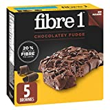 Fibre 1 Chocolate Fudge Brownies, 5-Count, 125 Gram