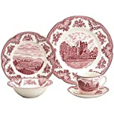 Johnson Brothers Old Britain Castles Pink 5-Piece Place Setting