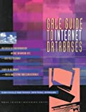 CyberHound's Guide to Internet Databases, Gale Group, 0787611891