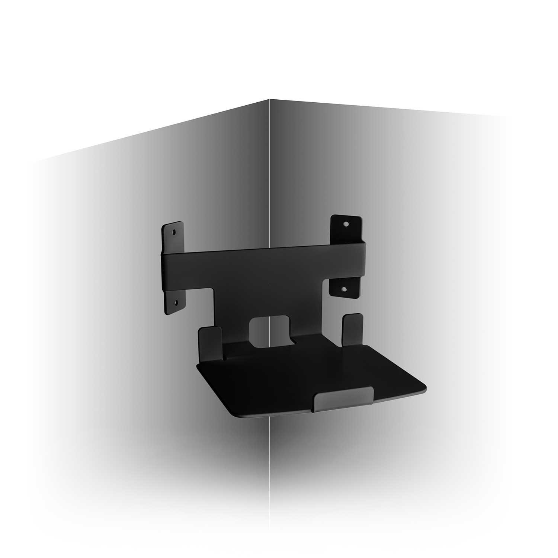 Vebos corner wall mount Play 5 gen 2 black compatible with SONOS PLAY:5